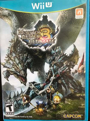 Monster Hunter 3 Ultimate for Sale in Ocala, FL