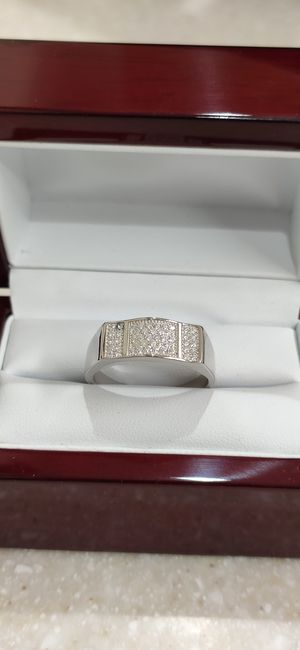 New with tag Solid 925 Sterling Silver MEN'S WEDDING Ring size 10 or 12 $150 OR BEST OFFER ** WE SHIP!!📦📫** for Sale in Phoenix, AZ