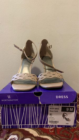 Rose Gold Worthington high heels for Sale in Lakewood, CA