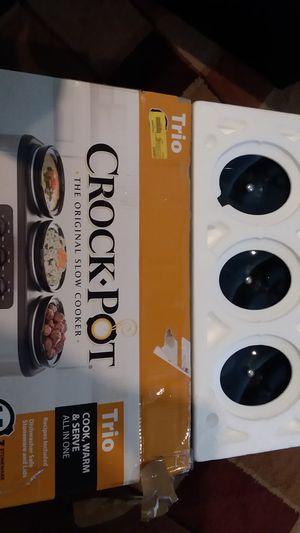 Triple Crock Pot NIB for Sale in Humble, TX