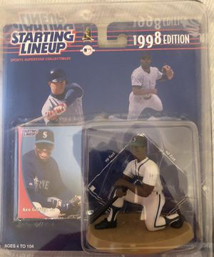 Seattle Mariners Ken Griffey Jr 1998 Starting Lineup still in original packaging and plastic protective case never opened for Sale in Mesa, AZ