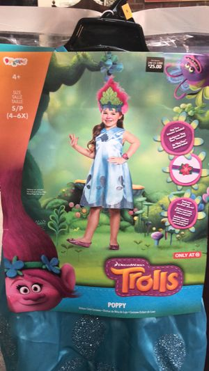 Trolls Poppy Costume for Sale in Silver Spring, MD