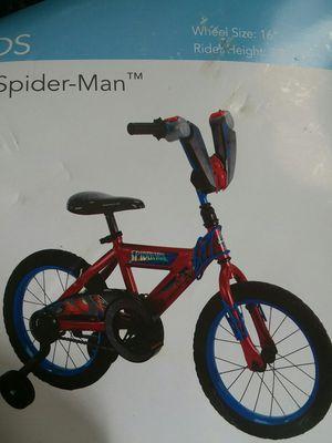 "16"" spider-man bike new for Sale in Chuckey, TN"
