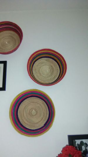 Set of 3 colorful baskets for Sale in Seattle, WA