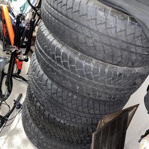 Bridgestone Tires From Wrangler 255/70R18 10k Miles for Sale in Randolph, NJ