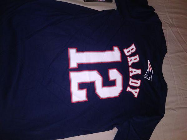 NFL Apparel!! New England Patriots!! #12 Tom Brady!! Youth T Shirts!! Check Description