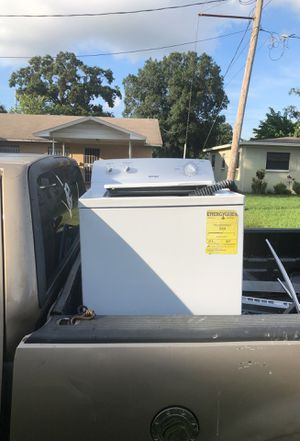 Hot point washer work great no problems you will love it for Sale in Tampa, FL