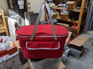 Collapsible picnic basket cooler for Sale in Kirkland, WA