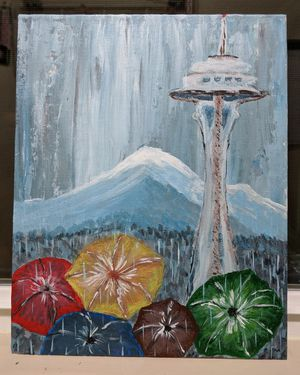 Acrylic paintings for Sale in Tacoma, WA