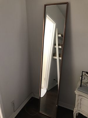 West Elm Rose Gold Floor length mirror for Sale in Santa Monica, CA