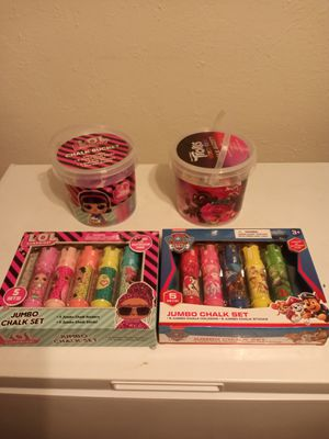 CHALK 4 PC'S for Sale in Irving, TX