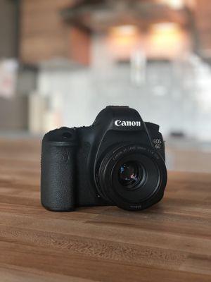 Canon 6D Full Frame DSLR Camera + Free 50mm Lens for Sale in Pinecrest, FL