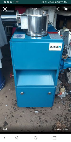 Dunkirk boila for Sale in Enfield, CT