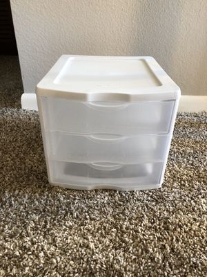 3 drawer plastic organizer for Sale in Clearwater, FL