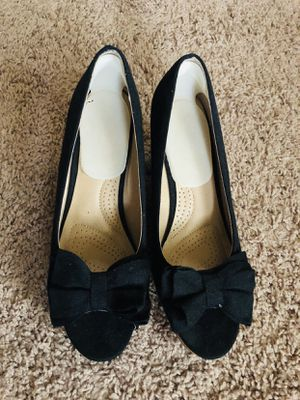 Women black wedges for Sale in Chantilly, VA