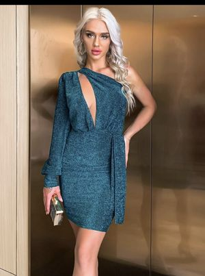 Draped glitter bodycon dress for Sale in Jacksonville, FL