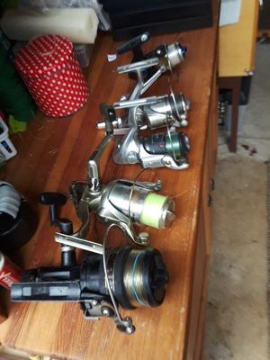 Fishing spinning reels for Sale in Vancouver, WA
