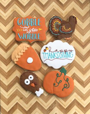 Custom Thanksgiving cookies for Sale in Delphos, OH