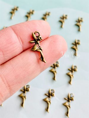 25 Antique Brass Fairy Charms for Sale in New York, NY