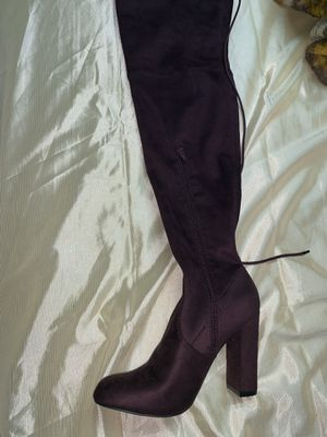 Suede thigh high boots for Sale in Inglewood, CA