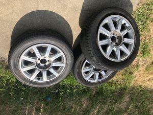 "18"" Chrysler rims and tires for Sale in Hampton, VA"