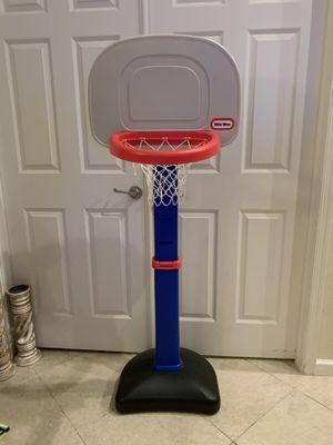Little tikes adjustable basketball hoop for Sale in Port St. Lucie, FL