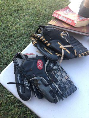 Baseball gloves for Sale in Whittier, CA