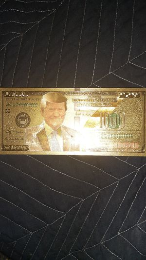$1000 FEDERAL TRUMP NOTE for Sale in Houston, TX