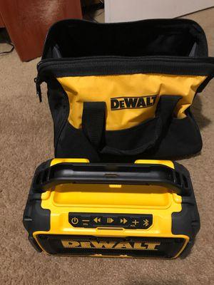 Dewalt Bluetooth speaker for Sale in Phoenix, AZ
