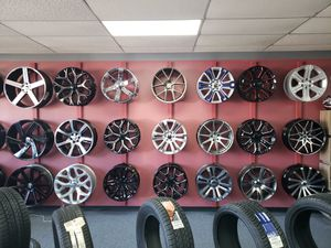wheels for all makes and models IN STOCK!! NO CREDIT NEEDED AND NO DOWN PAYEMTN REQUIRED! IOG for Sale in Irving, TX