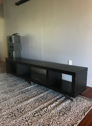 FREE IKEA low profile cabinet on wheels. TV stand for Sale in Fort Lauderdale, FL