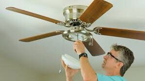 Ceiling fan, chandelier and light fixture installation for Sale in Grand Prairie, TX