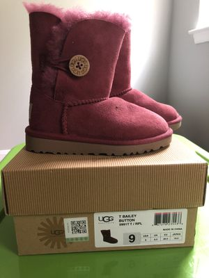 Little Girls Ugg Boots size 9 for Sale in Duluth, GA