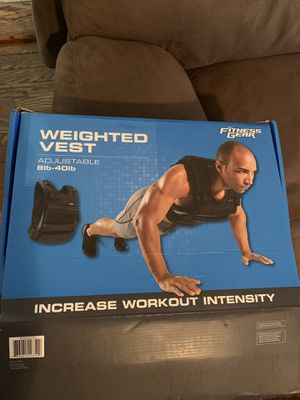 Adjustable Weighted Vest for Sale in Malden, MA