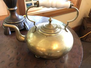Antique Brass Tea Pot for Sale in Washougal, WA