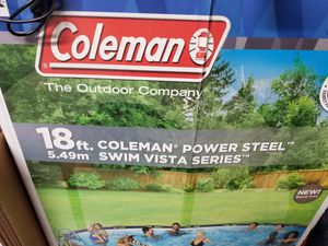 Coleman 18ft pool for Sale in Hanover, MD