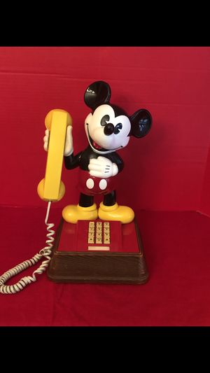 Disney Mickey Mouse touchtone phone for Sale in New Port Richey, FL