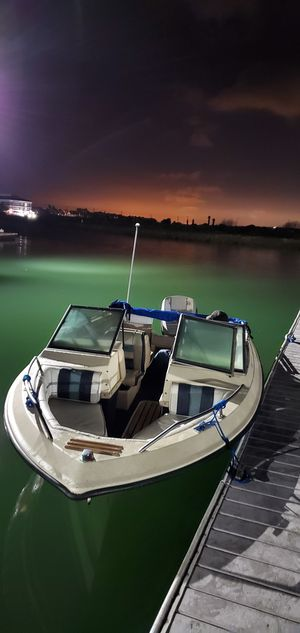 1987 winner deck boat for Sale in HUNTINGTN BCH, CA