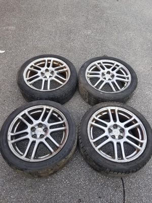 Rims 17 Scion 5 lugs 100 mm for Sale in Davie, FL