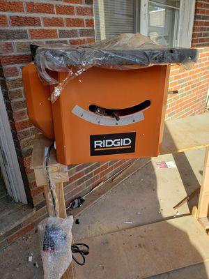 Rigid 10 inch 13 Amp Table Saw Model# R4512 for Sale in Philadelphia, PA