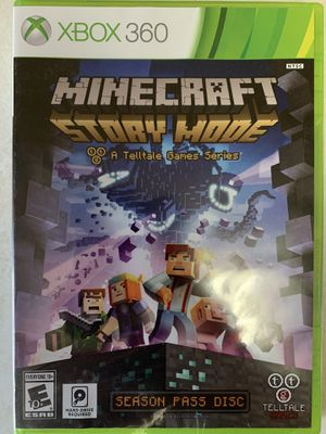XBOX 360- Minecraft Story Mode: A Telltale Game Series **UNOPENED** for Sale in Nashville, TN