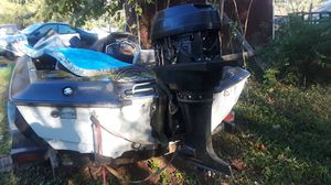Boat and trailer for Sale in Knoxville, MD