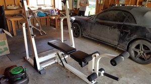 Nautilus Squat and Bench Rack for Sale in Denver, CO