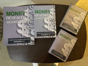 """""""Money Revealed"""" books and CDs for Sale in San Antonio, TX"""