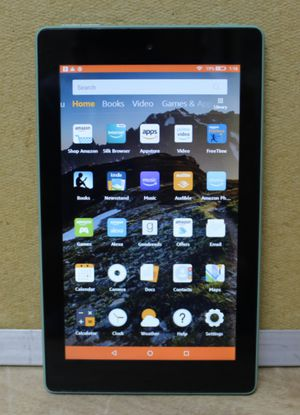 "Amazon Fire 7 9th Gen 7"" Tablet 16GB Sage for Sale in Sunrise, FL"