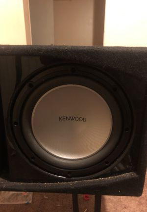 Kenwood subwoofer with amp for Sale in Hyattsville, MD