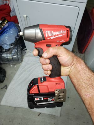 NEW 3/8 Milwaukee m18 impact with Batteries and charger for Sale in New Orleans, LA