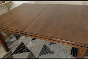 Cherry wood expandable table $40 for Sale in Long Beach, CA