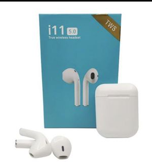 i11 TWS Wireless Earbuds 5.0 Bluetooth Earphone Headphone Airpods Wireless Touch Control Headphone Ture Stereo Headset With Charge Box Mic for Sale in Garland, TX