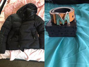 40$ coat size large belt size 36 for Sale in Alexandria, VA